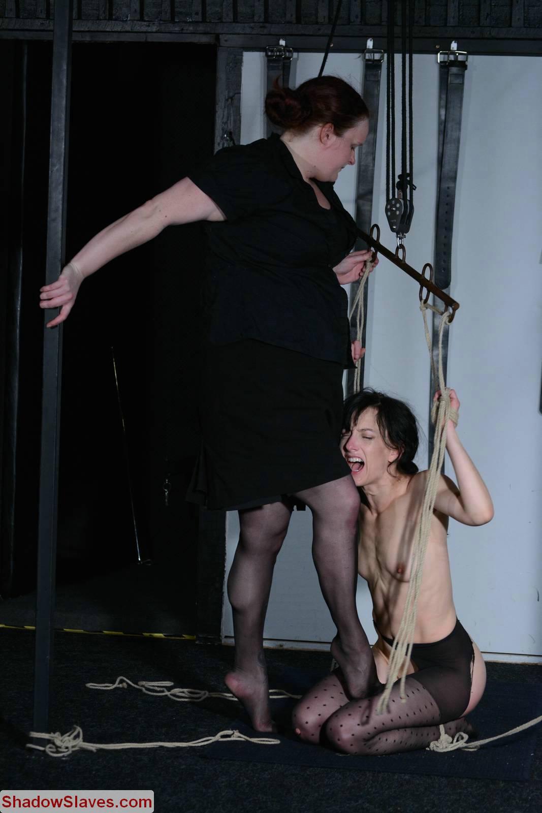 Sensual Lesbian Tickle Bondage